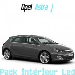 Pack intérieur extérieur led pour Opel Astra J