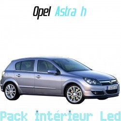 Pack Full Led interieur Extérieur Opel Astra H