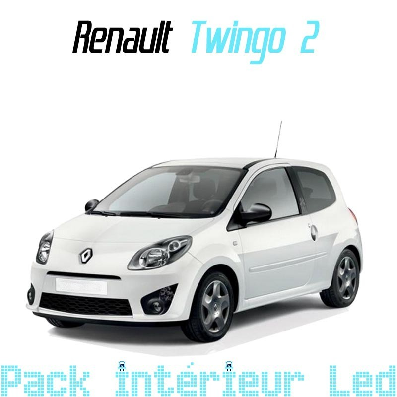 Pack Led interieur Renault Twingo 2