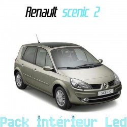 Pack Led interieur Renault Scenic 2