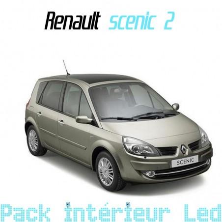 Pack intérieur led pour Renault Scenic 2