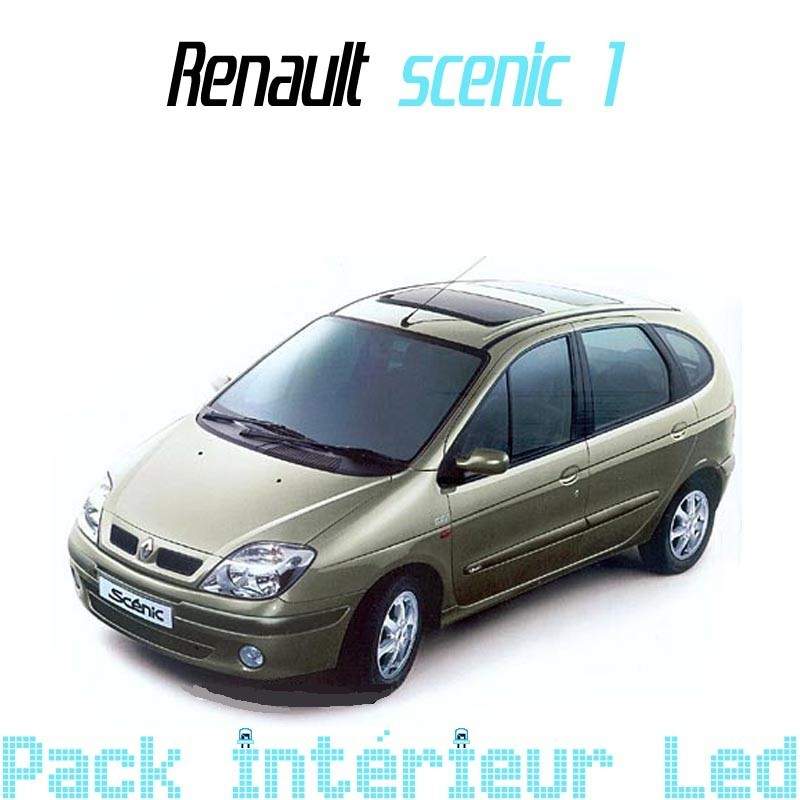 Pack Led interieur Renault Scenic 1