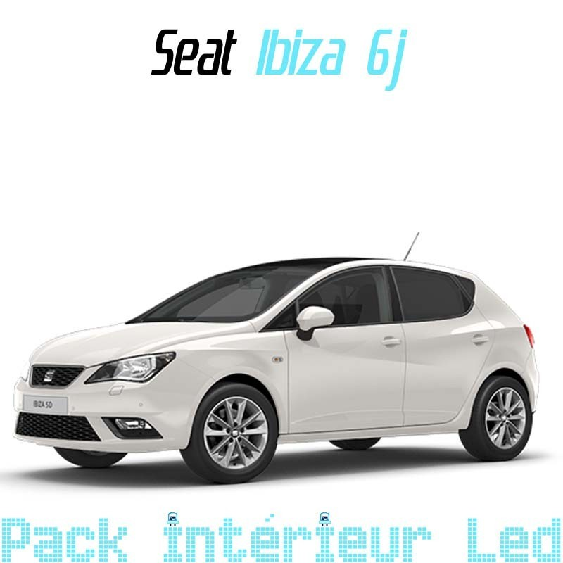 Pack intérieur Led Seat Ibiza 6j