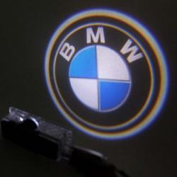 Module éclairage bas de portes logo led pour BMW