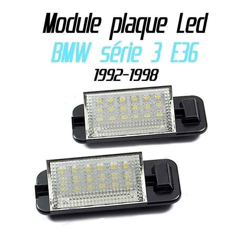 Pack Module de plaque LED pour BMW E36
