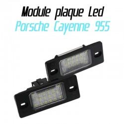 Pack Module de plaque LED pour Porsche Cayenne 955