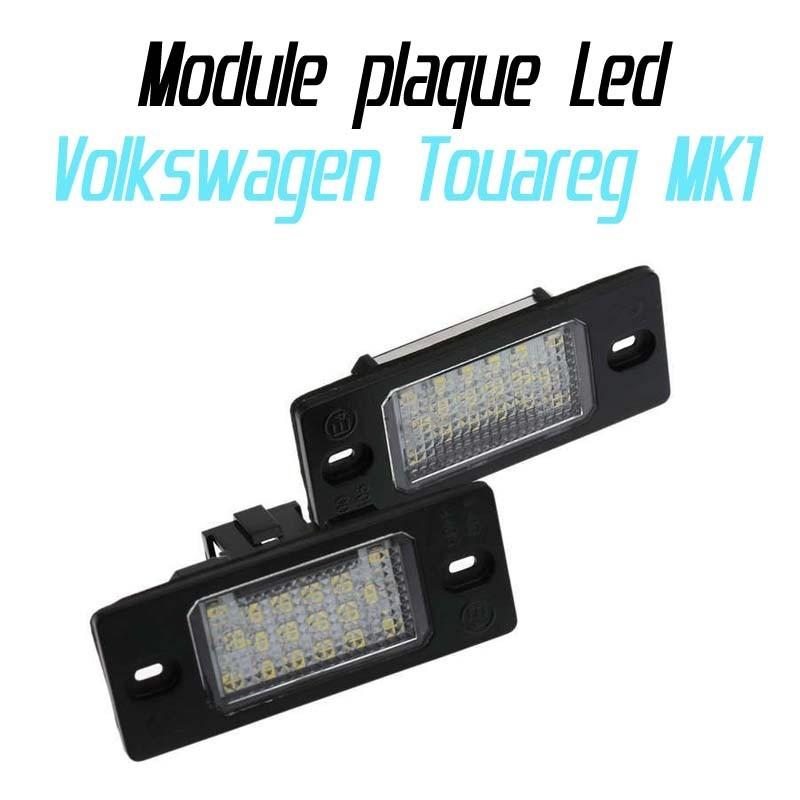 Pack Module de plaque LED pour Volkswagen Touareg MK1