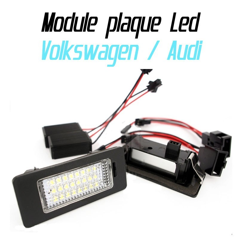 Pack Module de plaque LED pour Volkswagen / Audi