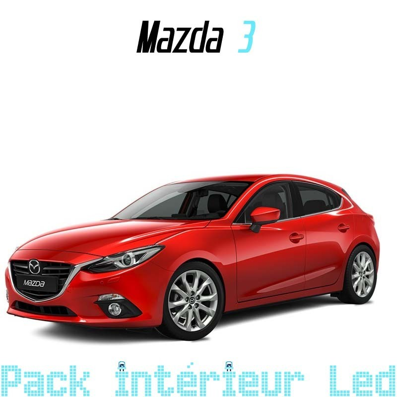 Pack Full Led Intérieur Extérieur Mazda 3