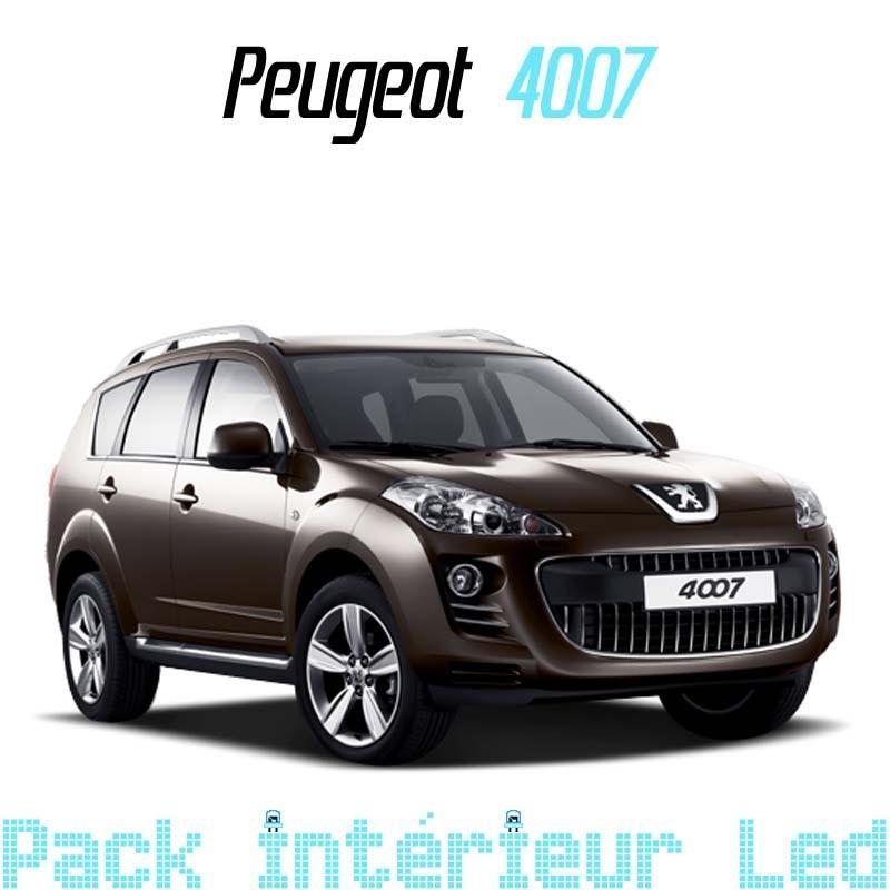 Pack intérieur led pour Peugeot 4007