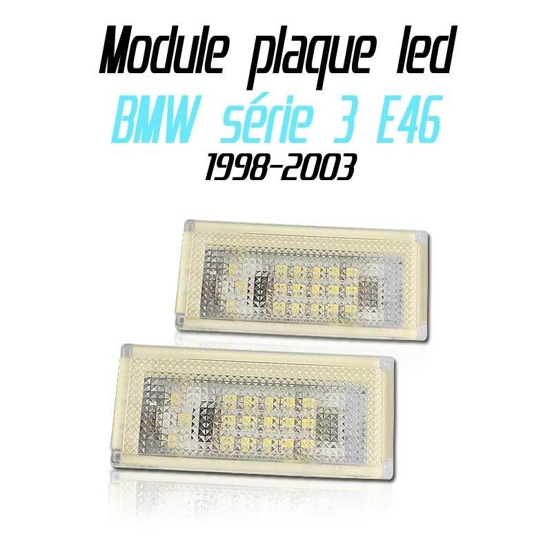 Pack Module de plaque LED pour BMW série 3 E46 2 portes