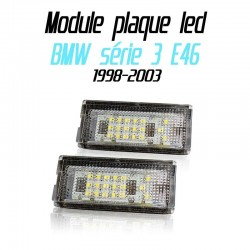 Pack modules de plaque led pour BMW série 3 E46 4 portes