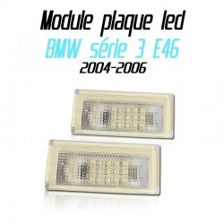 Pack modules de plaque led pour BMW série 3 E46 2 portes