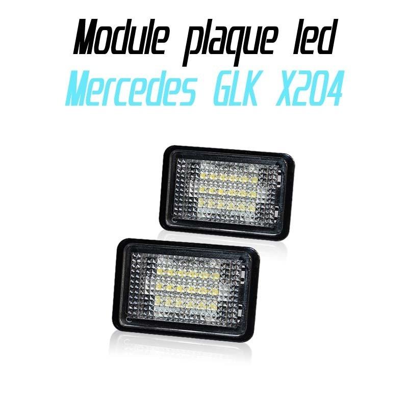 Pack Module de plaque led pour Mercedes GLK X204