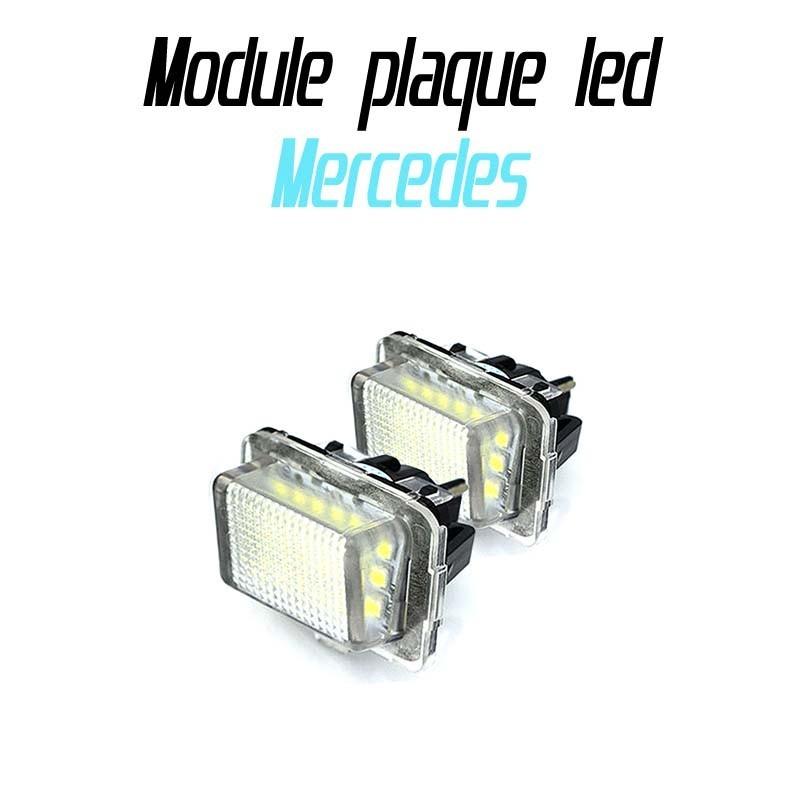 Pack Module de plaque led pour Mercedes W204 W212 W216 W221