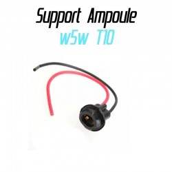 Support socket douille ampoule w5w T10 cablé 1