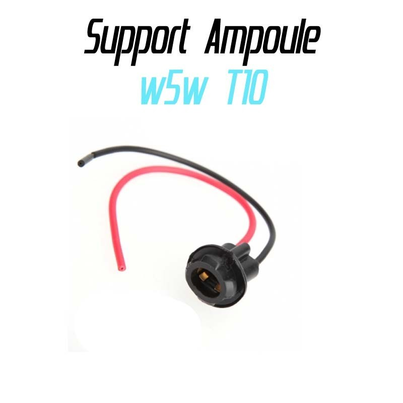 Support ampoule w5w