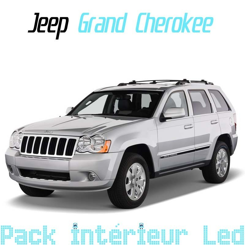 Pack Full Led interieur extérieur Jeep Grand cherokee 3