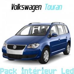 Pack intérieur led pour Volkswagen Touran 1 phase 1 et 2