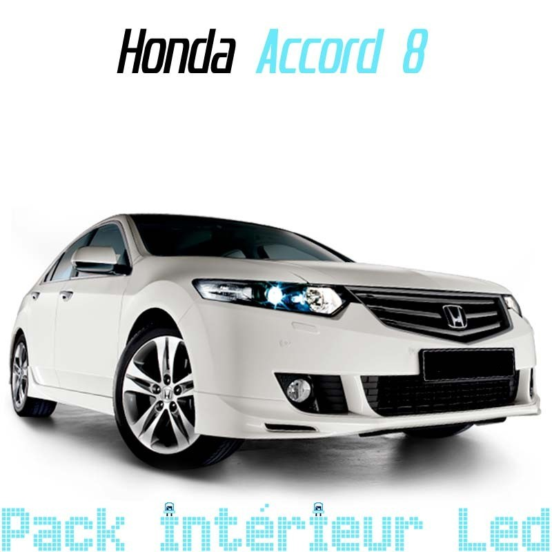 pack intrieur pour led honda accord 8