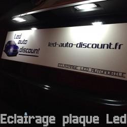 Pack éclairage de plaque led pour Saab