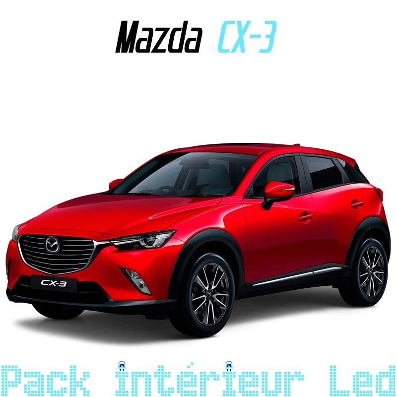 pack int rieur led pour mazda cx 3 led auto discount. Black Bedroom Furniture Sets. Home Design Ideas
