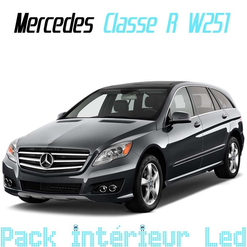 Pack int rieur led pour mercedes classe r w251 led auto for Mercedes classe r interieur