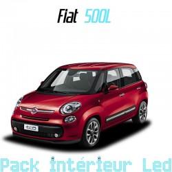 Pack intérieur led pour Fiat 500L