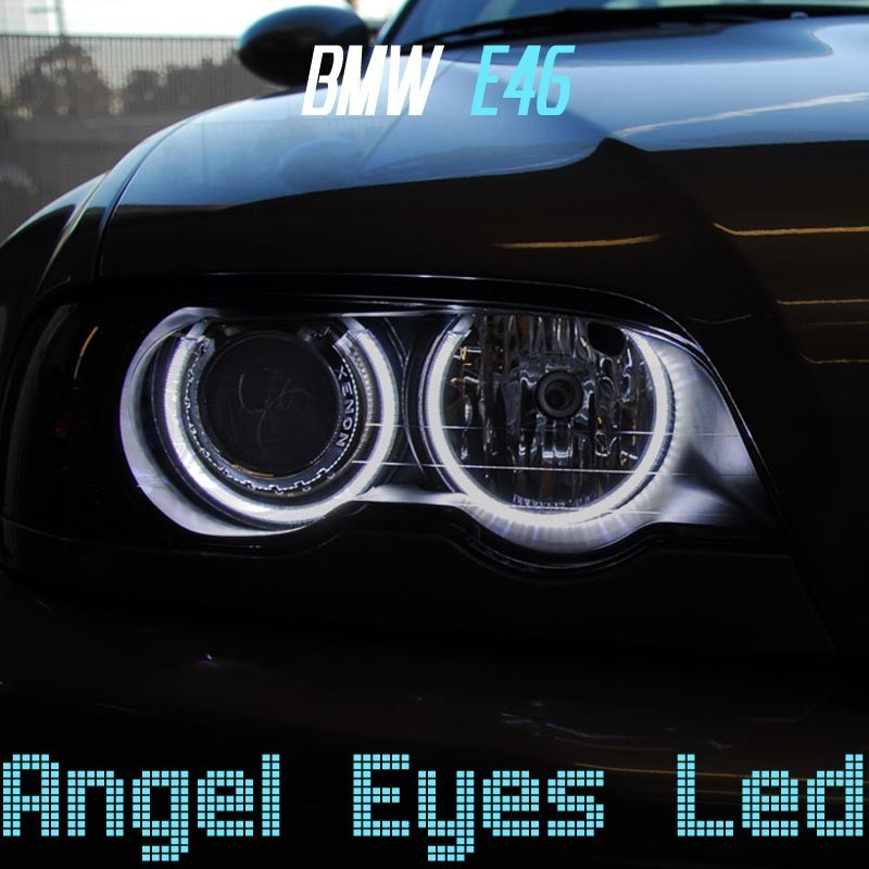 Pack Angel Eyes CCFL pour BMW E46