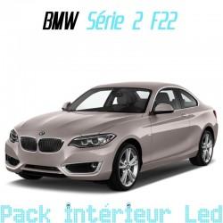 Pack intérieur led pour BMW Série 2 coupé F22