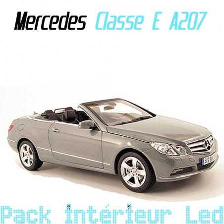 Pack intérieur led pour Mercedes Classe E Cabriolet A207