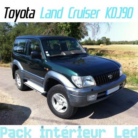 Pack intérieur led pour Toyota Land Cruiser KDJ 90 et KDJ 95