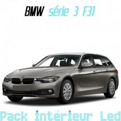 Pack intérieur led pour BMW Série 3 F31 Touring