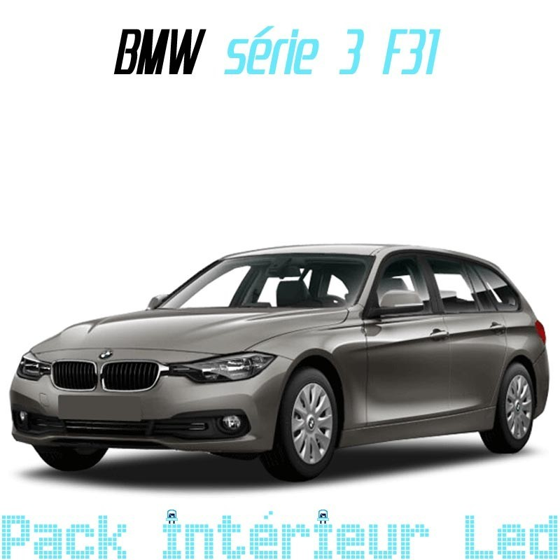 Pack intérieur led BMW serie 3 F31 touring