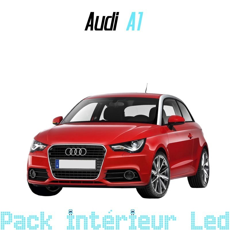 pack int rieur led pour audi a1 s1 led auto discount. Black Bedroom Furniture Sets. Home Design Ideas