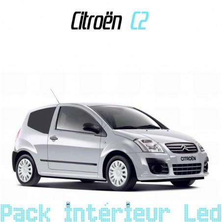 Pack intérieur led pour Citroën C2