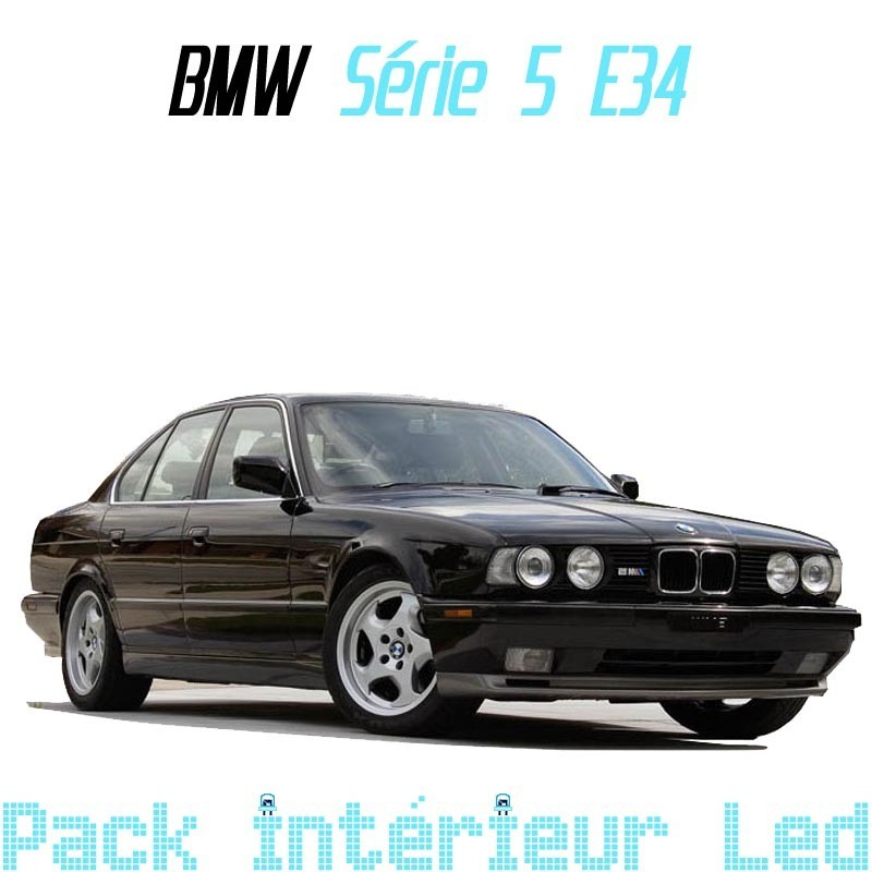 Pack Led interieur BMW série 5 E34