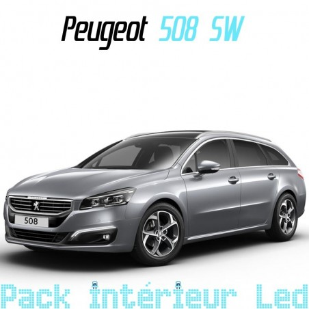 Pack intérieur led pour Peugeot 508 SW