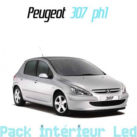 Pack intérieur led pour Peugeot 307 phase 1