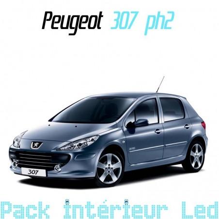 Pack intérieur led pour Peugeot 307 phase 2