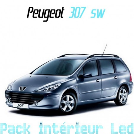 Pack intérieur led pour Peugeot 307 SW