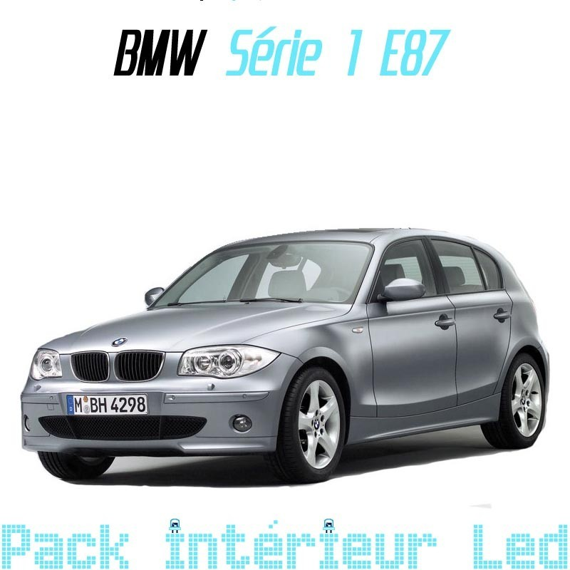 pack int rieur led pour bmw s rie 1 e87 led auto discount. Black Bedroom Furniture Sets. Home Design Ideas