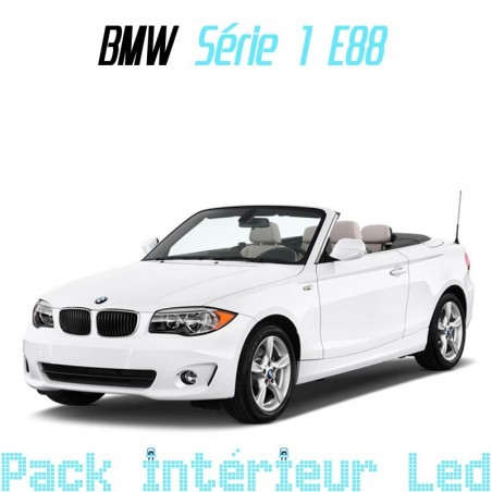 Pack intérieur led pour BMW série 1 cabriolet E88