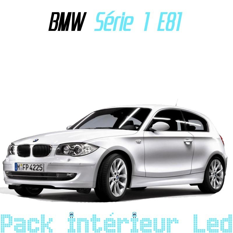 Pack led Intérieur pour BMW série 1 E81