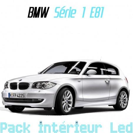 Pack intérieur led pour BMW série 1 E81