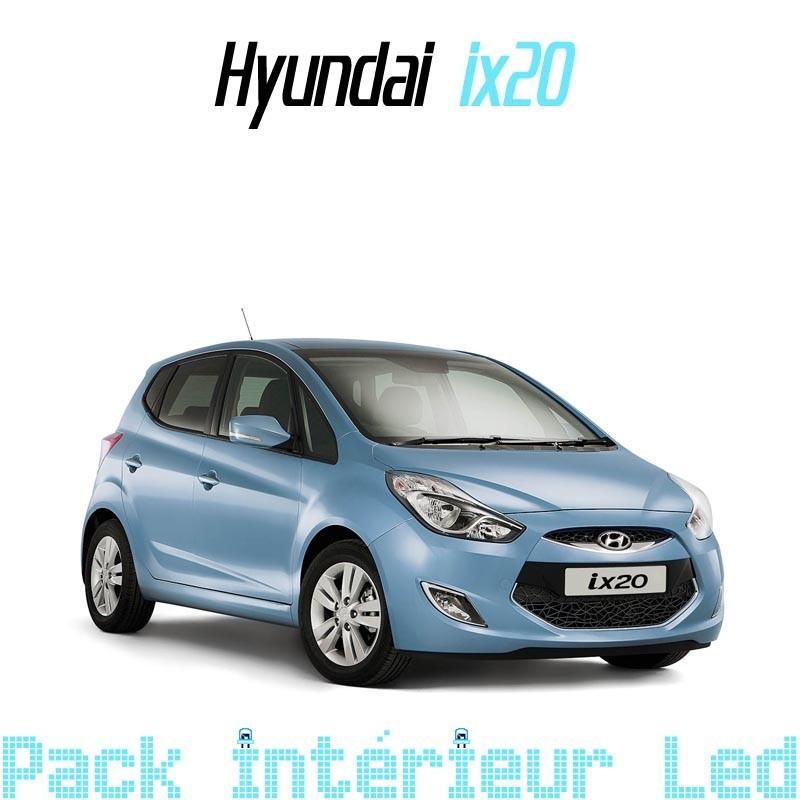 pack int rieur led pour hyundai ix20 led auto discount. Black Bedroom Furniture Sets. Home Design Ideas