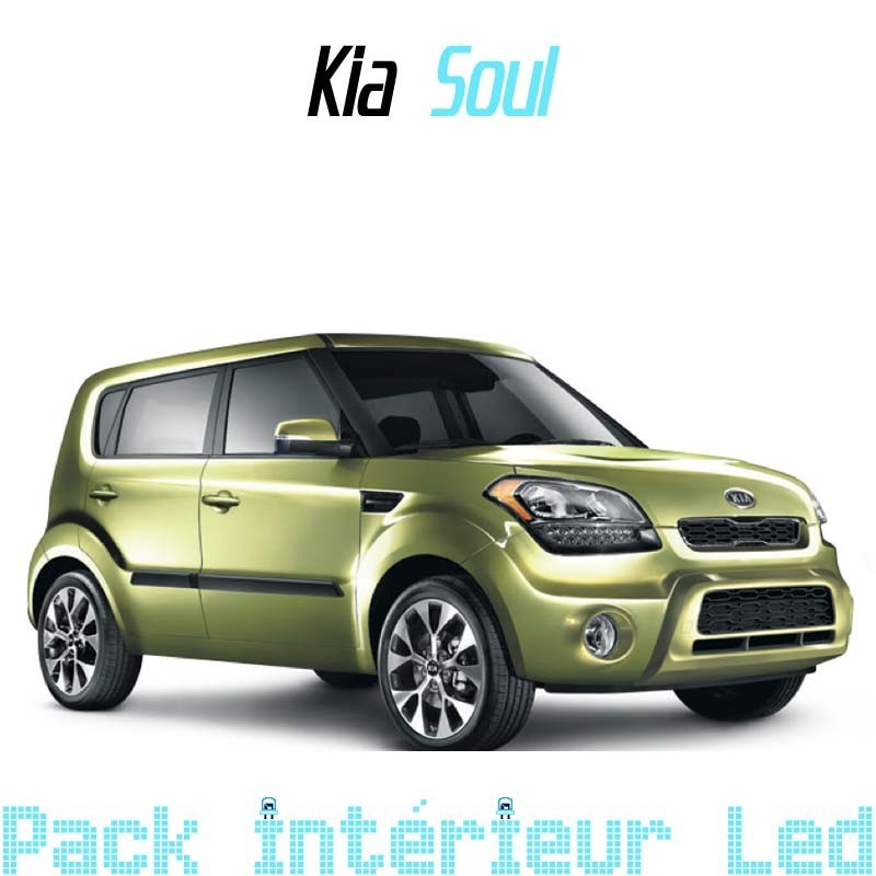 pack int rieur led pour kia soul 1 led auto discount. Black Bedroom Furniture Sets. Home Design Ideas