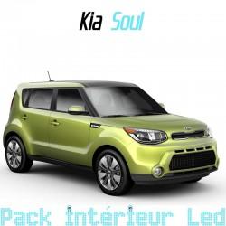 Pack intérieur led pour Kia Soul 2