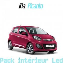 Pack intérieur led pour Kia Picanto 2