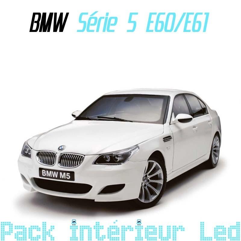 Pack Led intérieur pour BMW série 5 E60/E61
